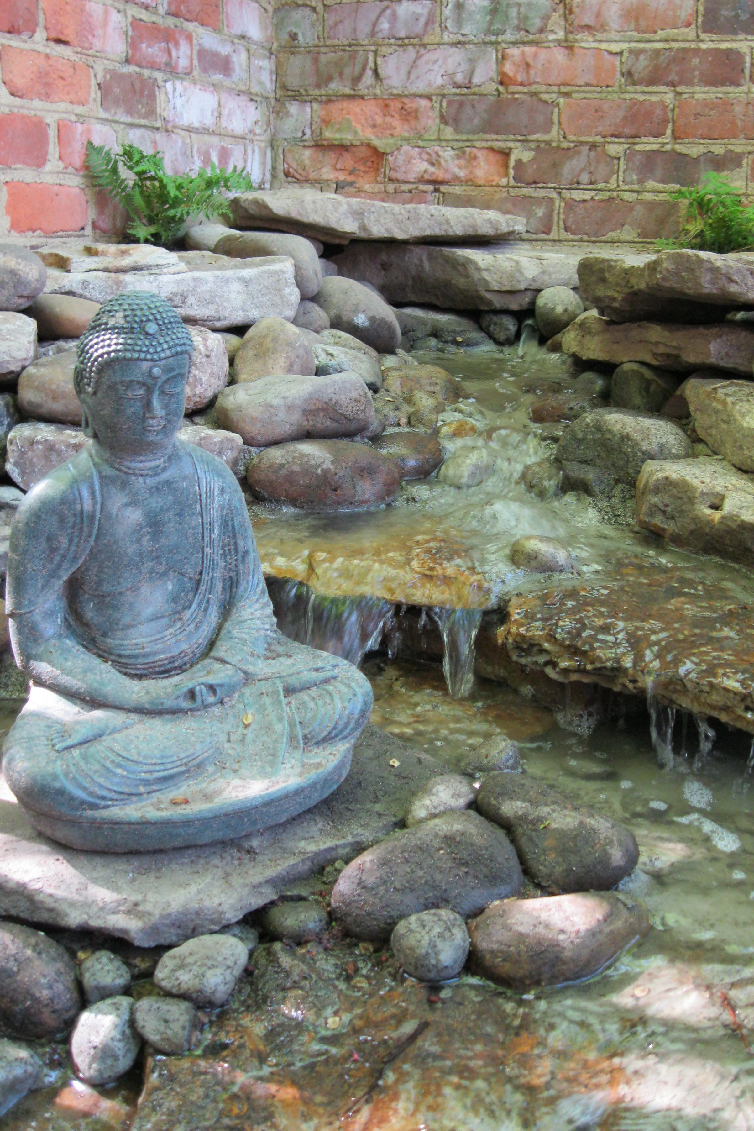 Even small spaces can fit unique water features 39 like 39 outdoor dreams of facebook and you will - Water features for small spaces plan ...