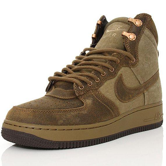 Nike Air Force 1 Hi DCN Military Raw