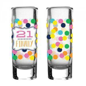 Shot Glass Set - 21 Finally