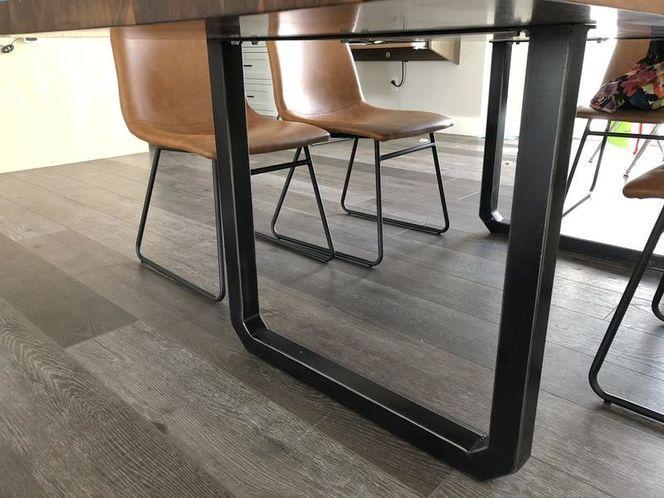 Custom Metal Table Legs | Metal table, Metal table legs ...