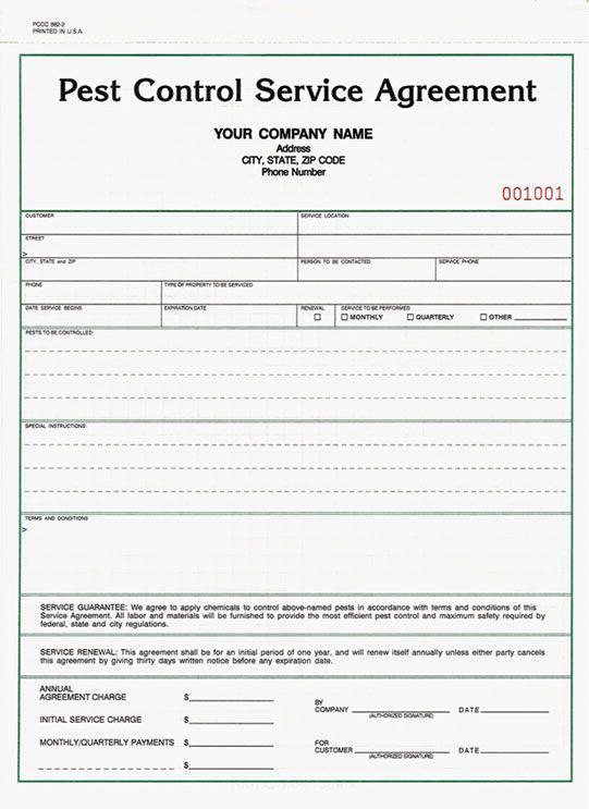 Pest Control Service Agreement Pest Control Services Pest Control Pest Control Logo
