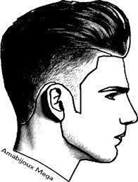 Resultado De Imagem Para Desenho Cabelo Masculino Perfil Rostos