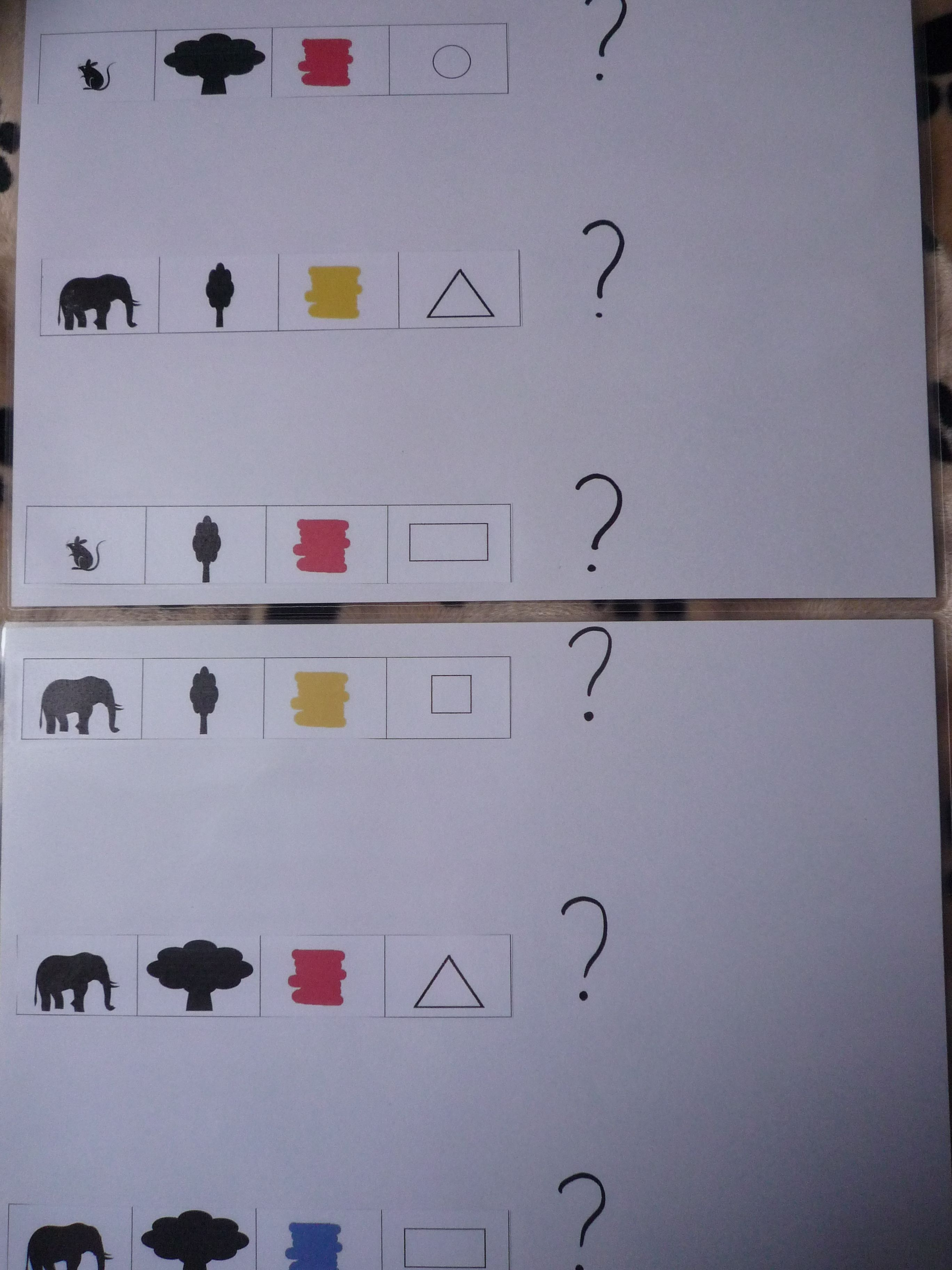 21d4b76c9fa leuke opdrachtkaarten om met logiblokken de begrippen dik-dun ,de kleuren  en de vormen te oefenen. je kan de opdrachtkaarten vinden op de site van ...