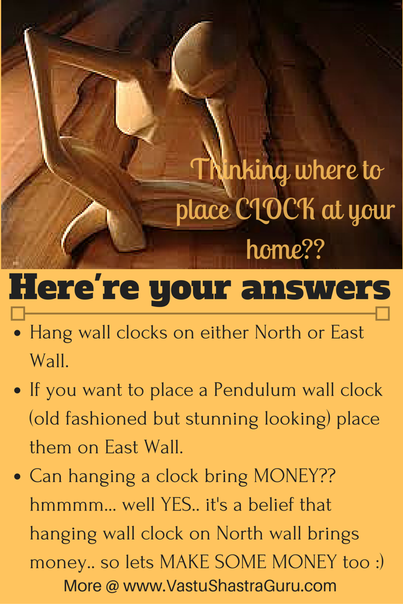 Herere Few Awesome Vastu Tips To Place Wall Clocks In Your