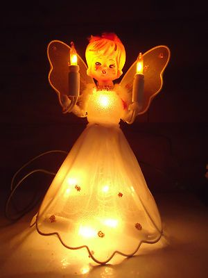 Vintage NOMA Heavenly Angel Lighted Christmas Tree TopperProduct