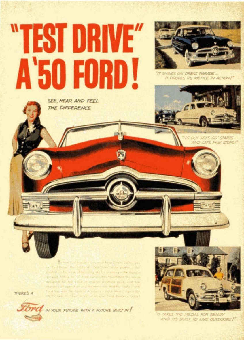 pictures of the 1950s old car ads home old car brochures old rh pinterest com au