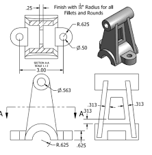 Image Result For Mechanical Assembly Drawings With Dimensions In Pdf