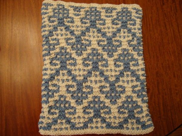 Mosaic Knitting : Mosaic knit patterns free cloth knitting pattern