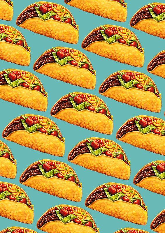Taco Photographic Print By Kelly Gilleran Taco Wallpaper Food Wallpaper Framed Art Prints