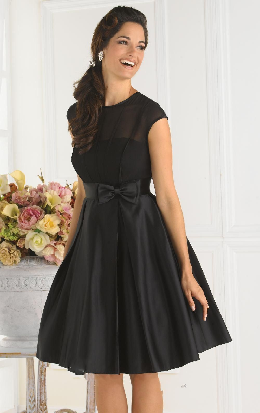 black cocktail dresses - Buscar con Google