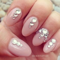 almond nails short - Google Search