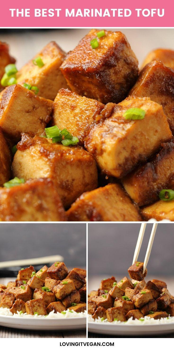 The Best Marinated Tofu