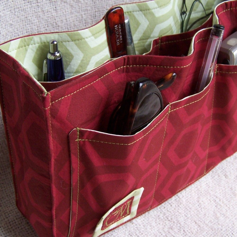 Purse Organizer Insert pdf Sewing Instructions   Etsy in ...