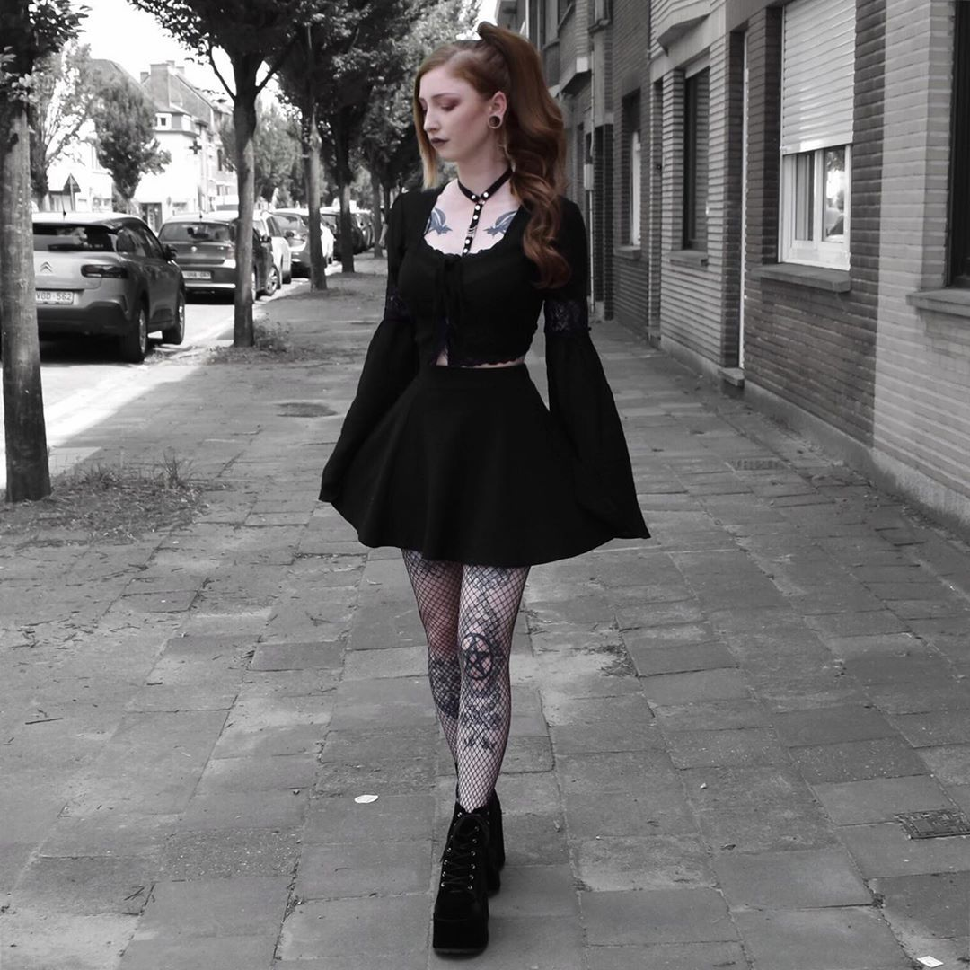 Pin By Chiaki On Black Clothing Alternative Fashion Nugoth Outfits Fashion Inspo Outfits Fashion Outfits [ 1080 x 1080 Pixel ]