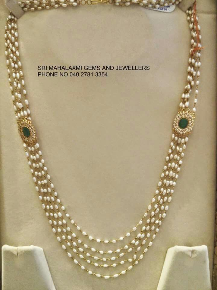 Pearl Strings Pearl Necklace Designs Jewelry Fashion Jewelry