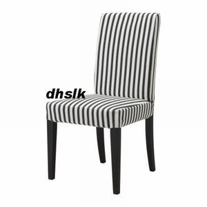 ikea dining chair covers black and white elastic kitchen four pack henriksdal slipcover cover discontinued fabrics 20 51cm size ebay