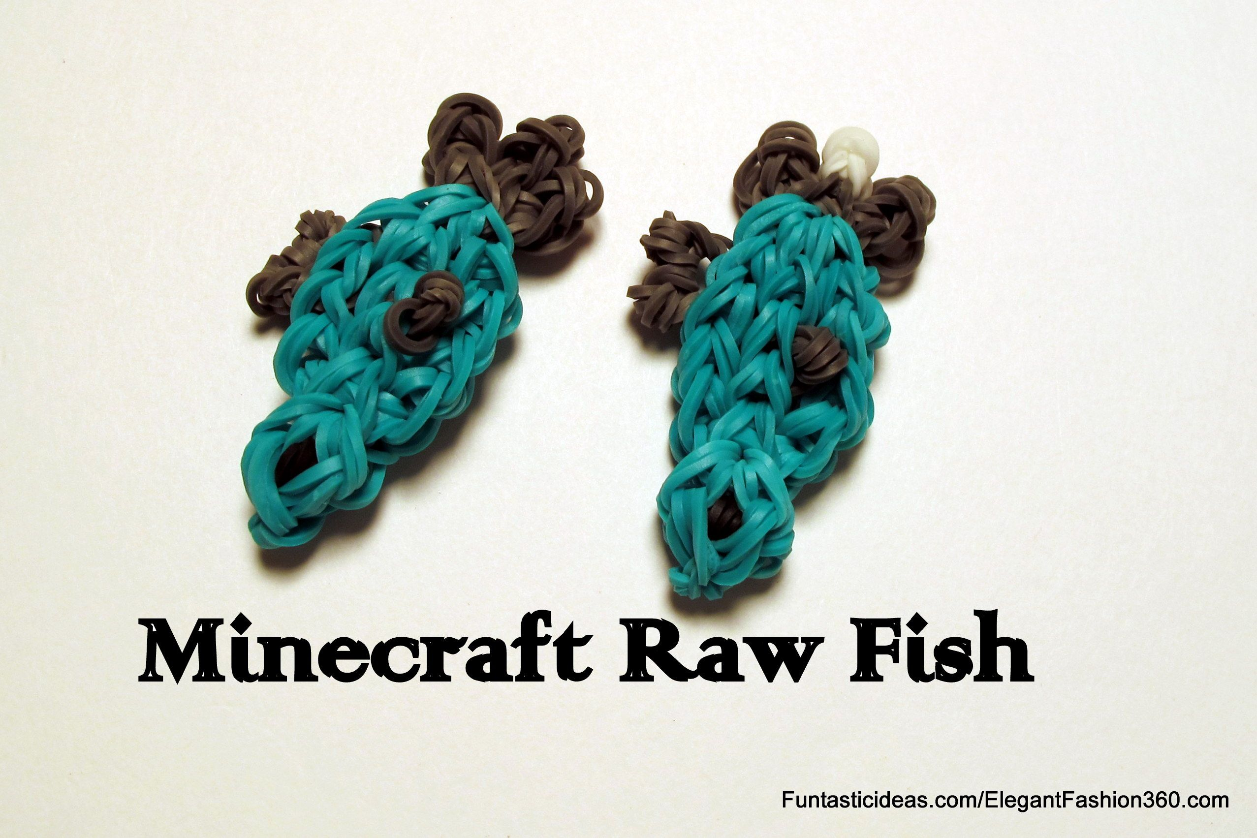 Minecraft Raw Fish Charm Subscribe Youtube Channel S