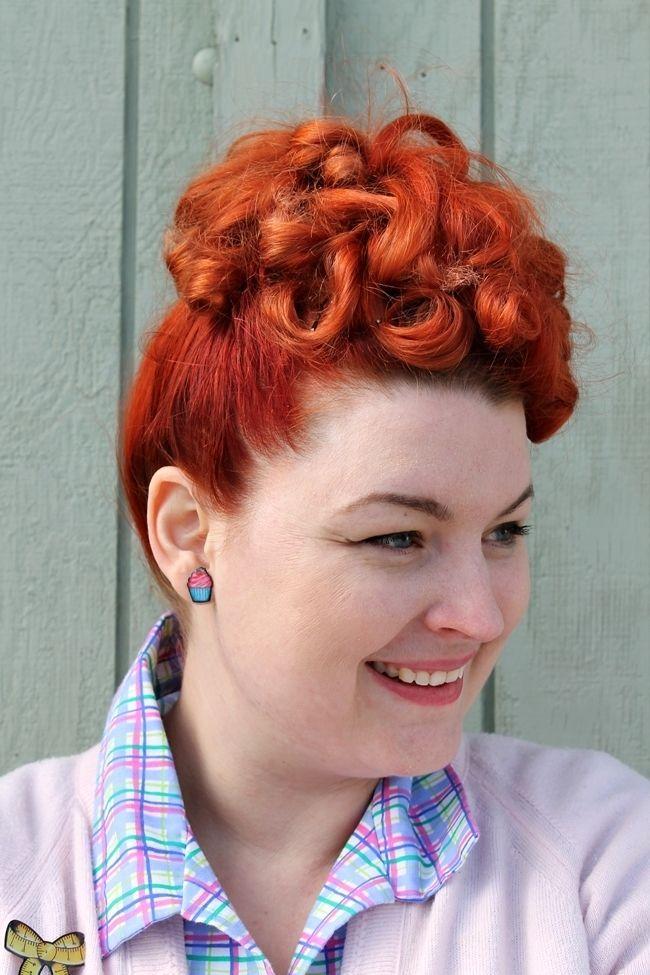 Granny Chic 1940s Hair Pinterest Hair Hair Styles And 50s