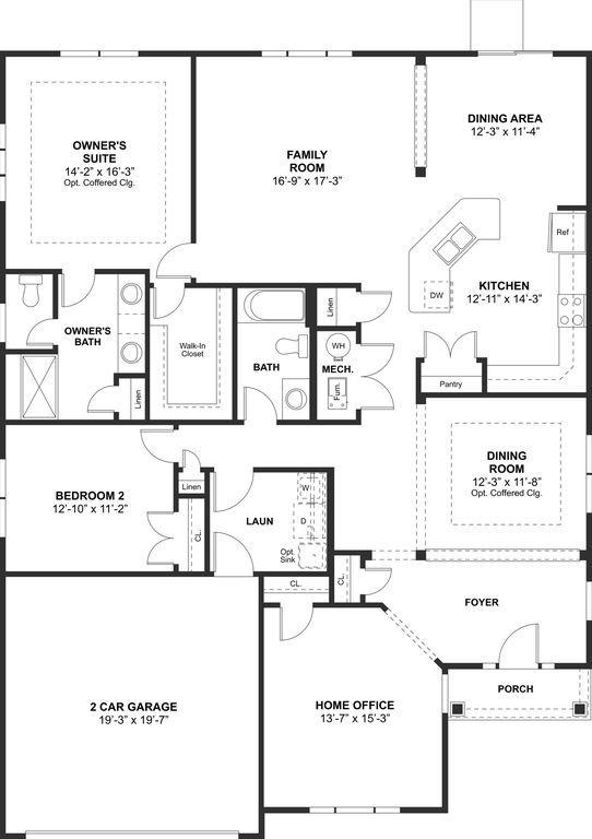 Amelia K Hovnanians Four Seasons at Harbor Bay by K Hovnanians – Four Seasons Housing Floor Plans
