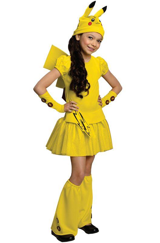 Deluxe Pikachu Child Costume NEW Pokemon
