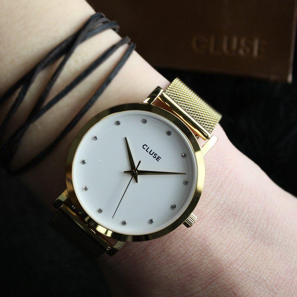 f2955d8dc7c476 damski Cluse Gold Stones | Modne zegarki | Zegarki damskie i Złoto