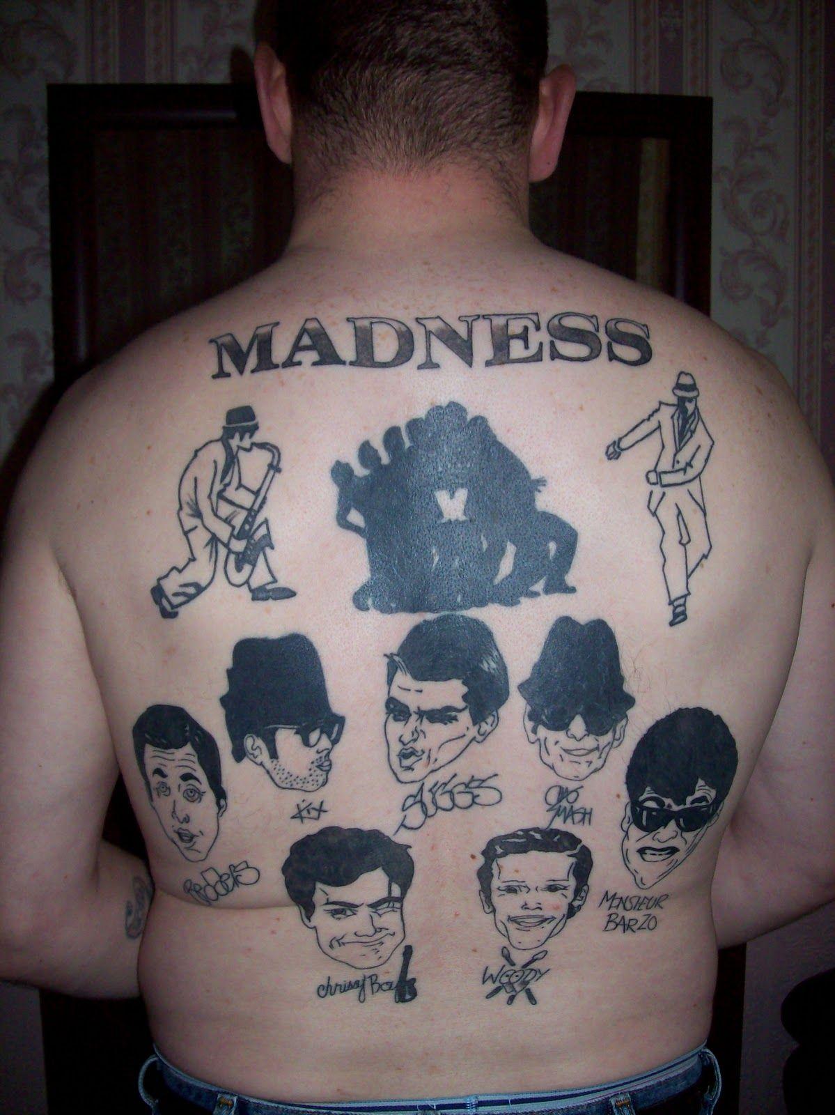 2 Tone Tattoo : tattoo, Tattoos, Ideas, Tattoos,, Tones,, Music