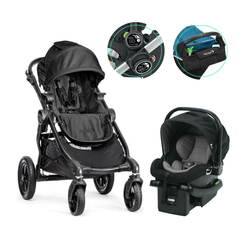 Baby Jogger City Select and City GO Travel System Baby