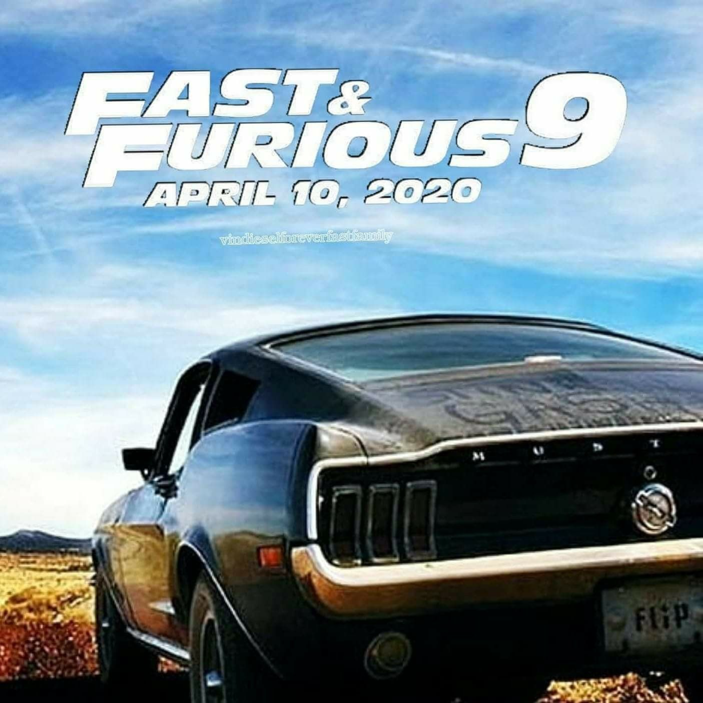 Fast Furious 9 Fast And Furious Paul Walker The Furious