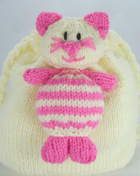 Knitting Pattern Cat Nap Sackbag Knitting Pattern Download From