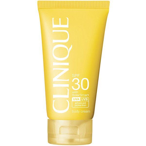 Clinique Sun Broad Spectrum Spf 30 Body Cream 23 Liked On
