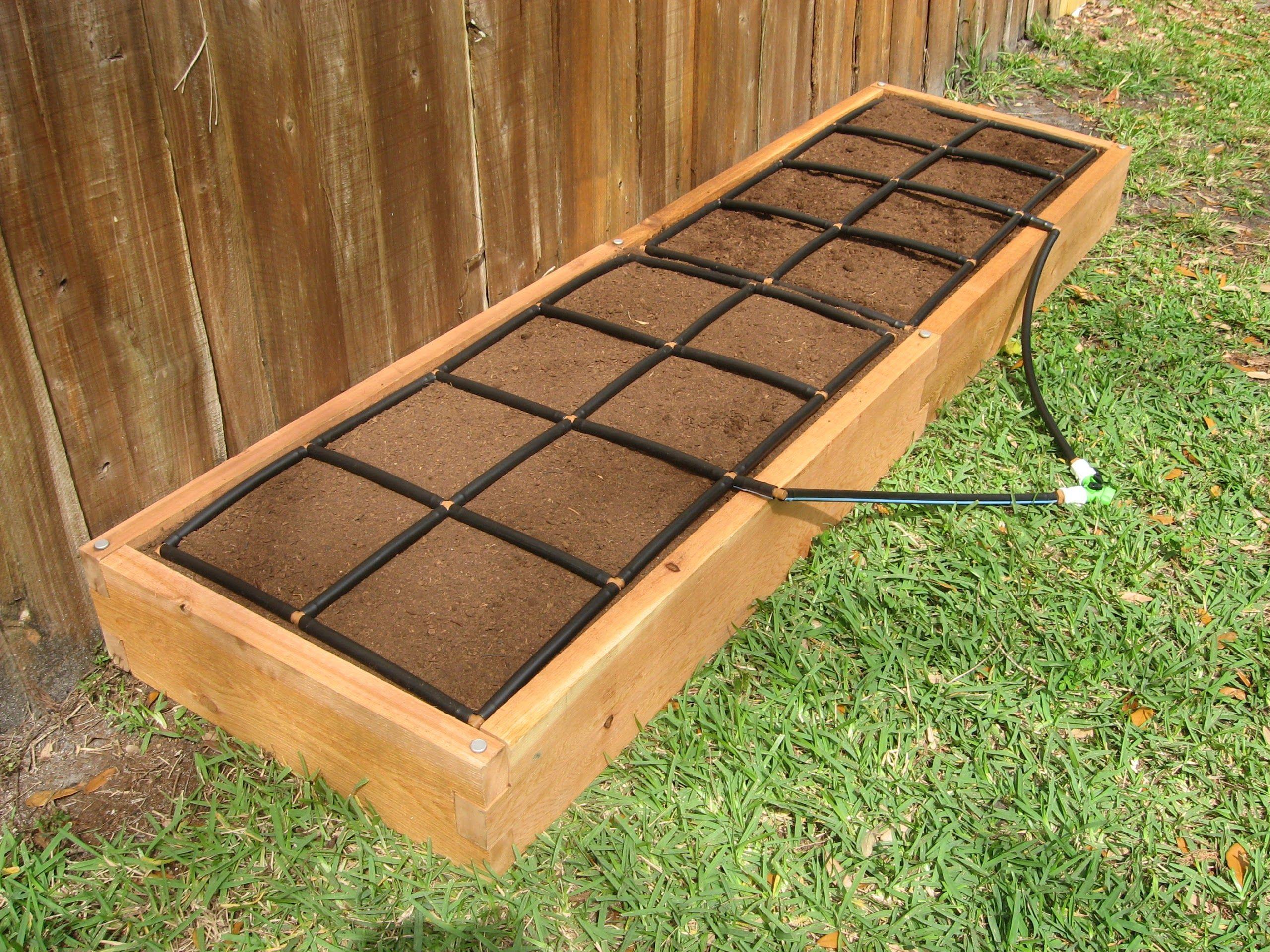 2x8 Raised Garden Kit W The Garden Grid Raised Vegetable