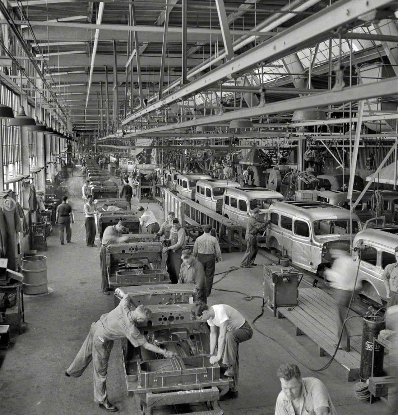 Arthur Siegel - Chrysler Corporation Dodge truck plant ...