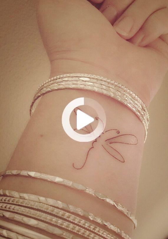Libellula tatuaggio