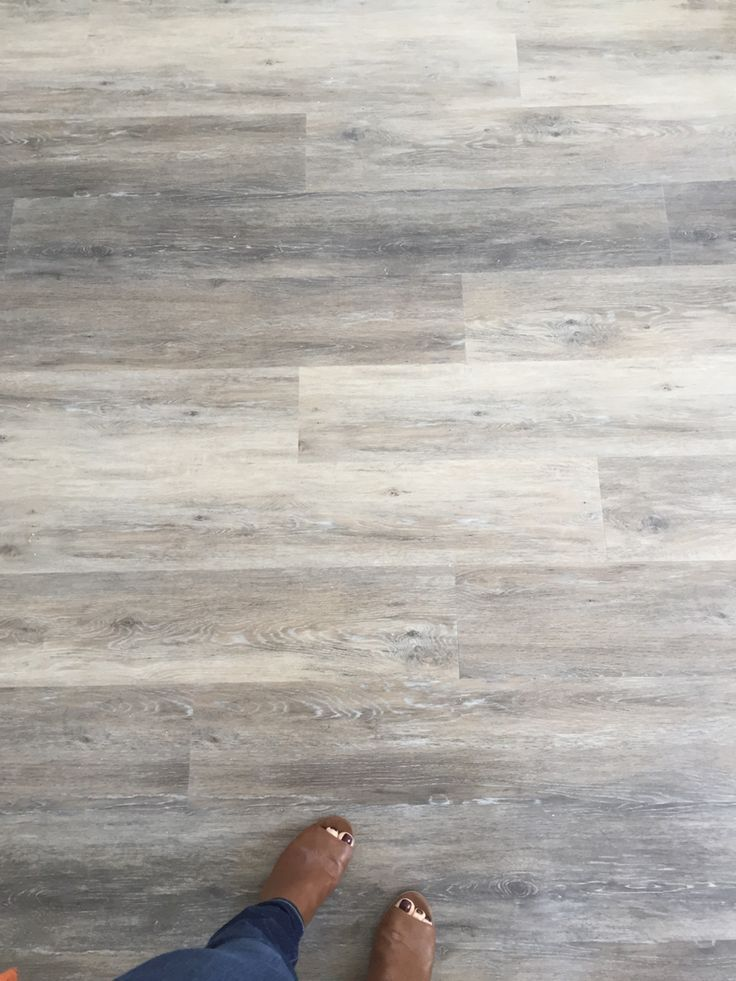 My Next Floor! (Can Be Installed Over Tile!) Engineered Luxury Vinyl Plank