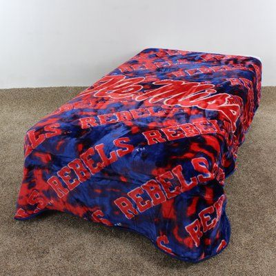 College Covers NCAA Ole Miss Polyester Throw Blanket