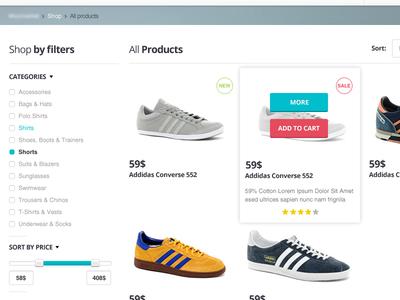 E-commerce Sneakpeek