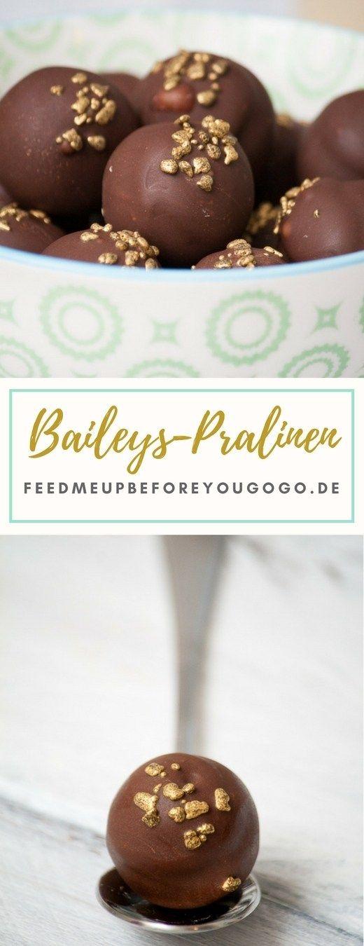Süßes für die Vorweihnachtszeit: Baileys-Pralinen #pralinecake