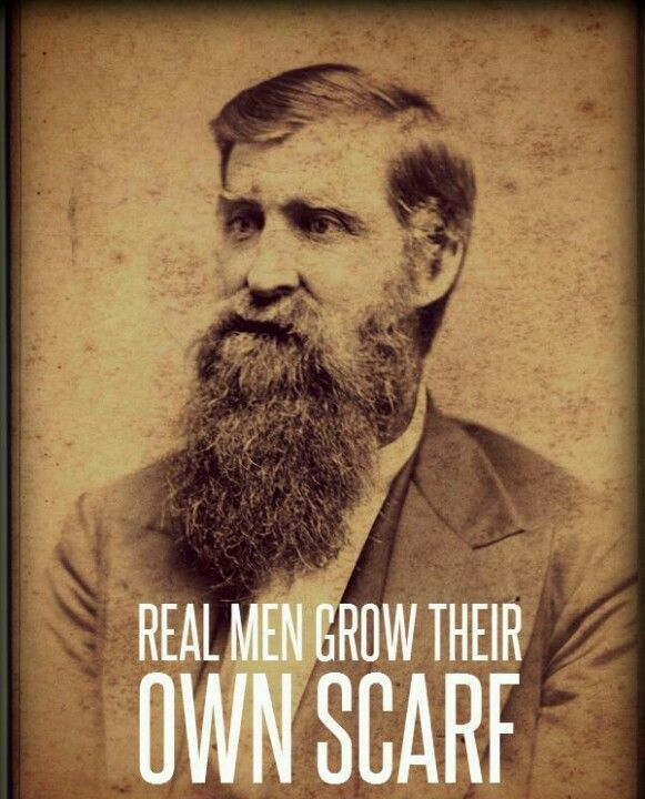 Beards are cool Funny