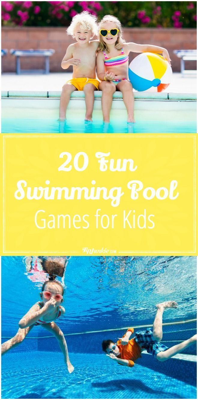 20 Fun Swimming Pool Games for Kids Pool party games