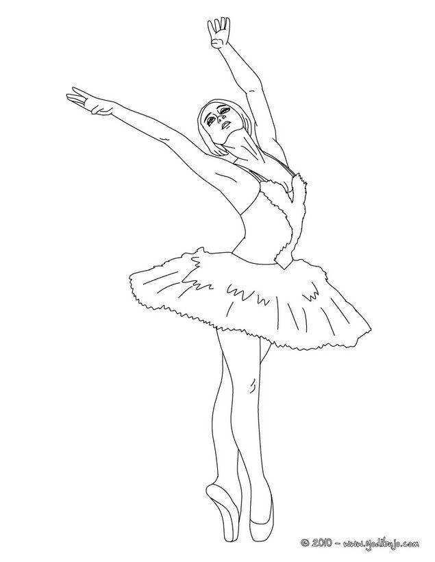 Bailarinas de ballet para colorear | Pintar imágenes | Bailarinas ...