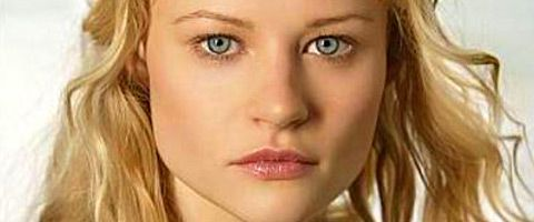 Emilie de Ravin  She's had a mysterious role this season on Once Upon a Time.