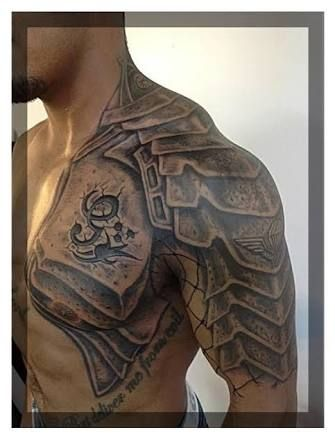 Image Result For Viking Leather Armor Tattoo Shoulder Armor Tattoo Armor Tattoo Armour Tattoo