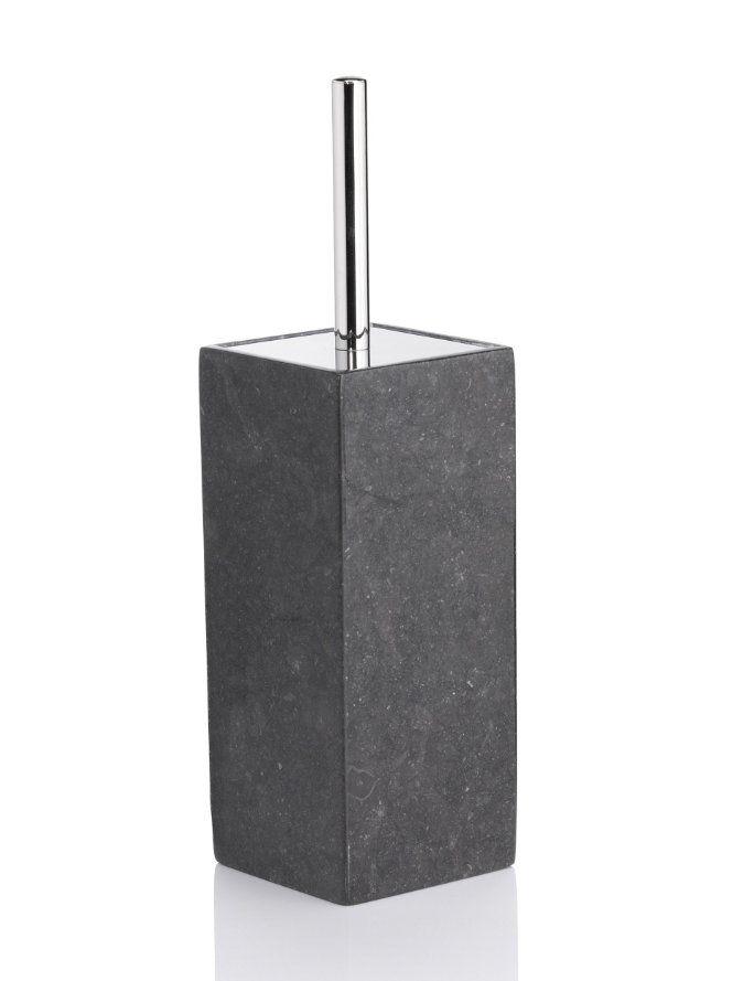 Black Marble Square Toilet Brush Holder M S Marble Square Toilet Brush Holders Toilet Brush