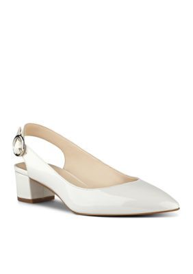 501f7b75933 Nine West Women s Nine West Brigitte Ds Block Heel - Off White - 7M
