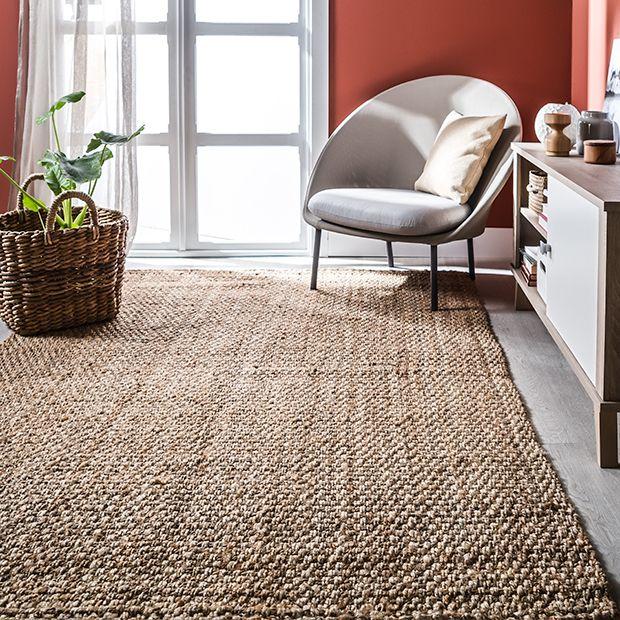 alfombras de fibras naturales leroy merlin