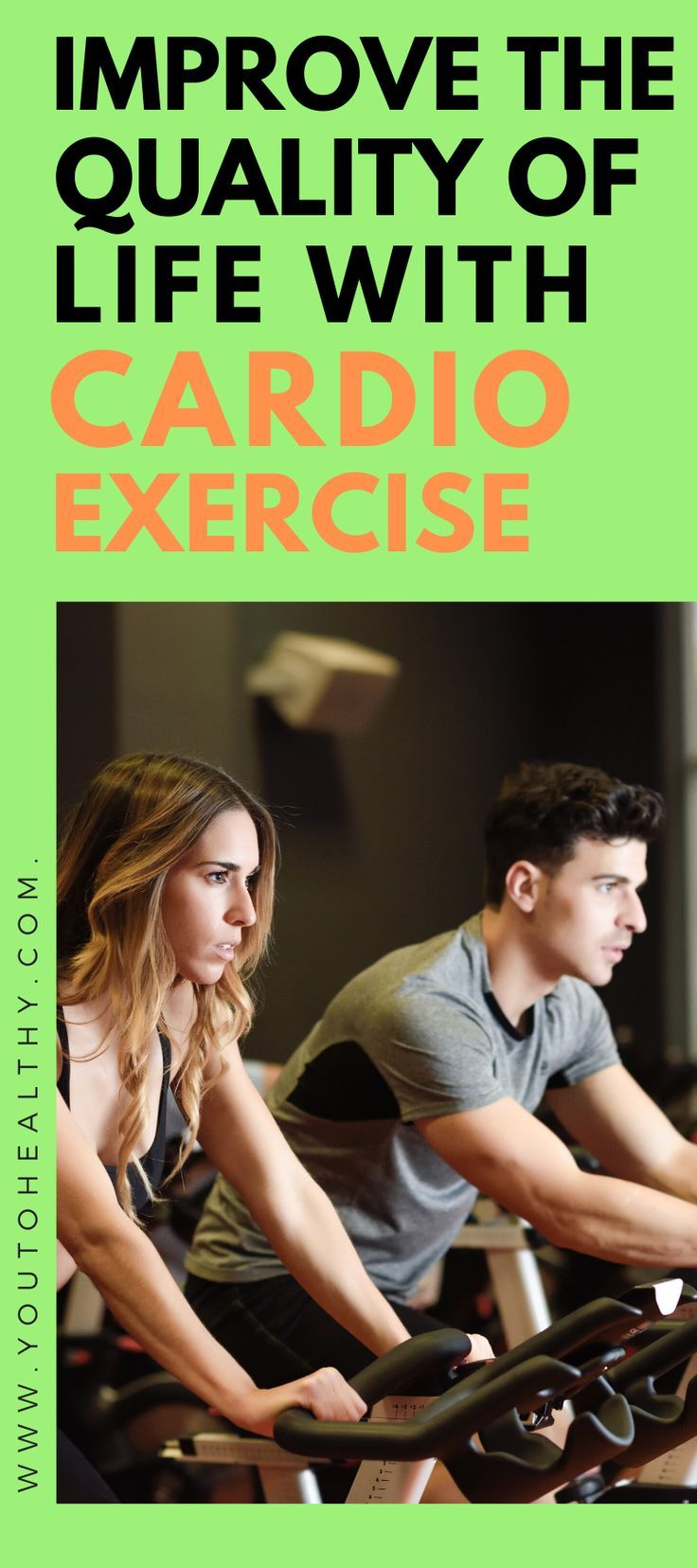 Cardio exercise brings beauty and wellbeing to your body and soul. The health benefits are often fou...