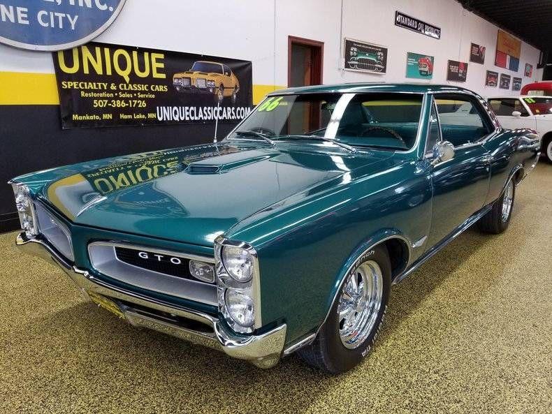 1966 Pontiac Gto For Sale 2034462 Hemmings Motor News Pontiac