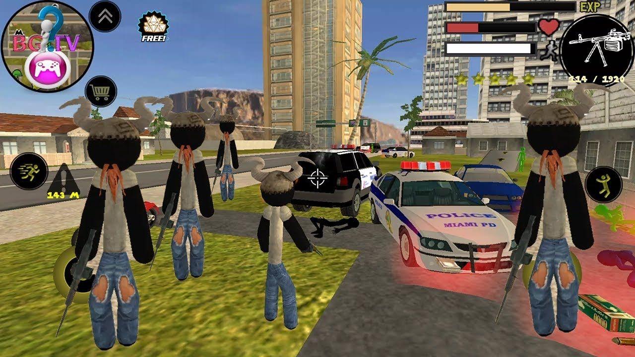 stickman car crash games