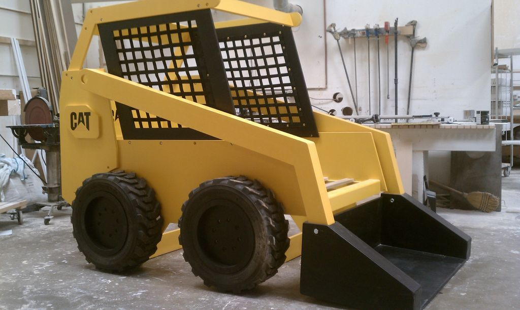 Building a dump truck bed with front loader book shelf dump trucks boys and room - Dump truck twin bed ...