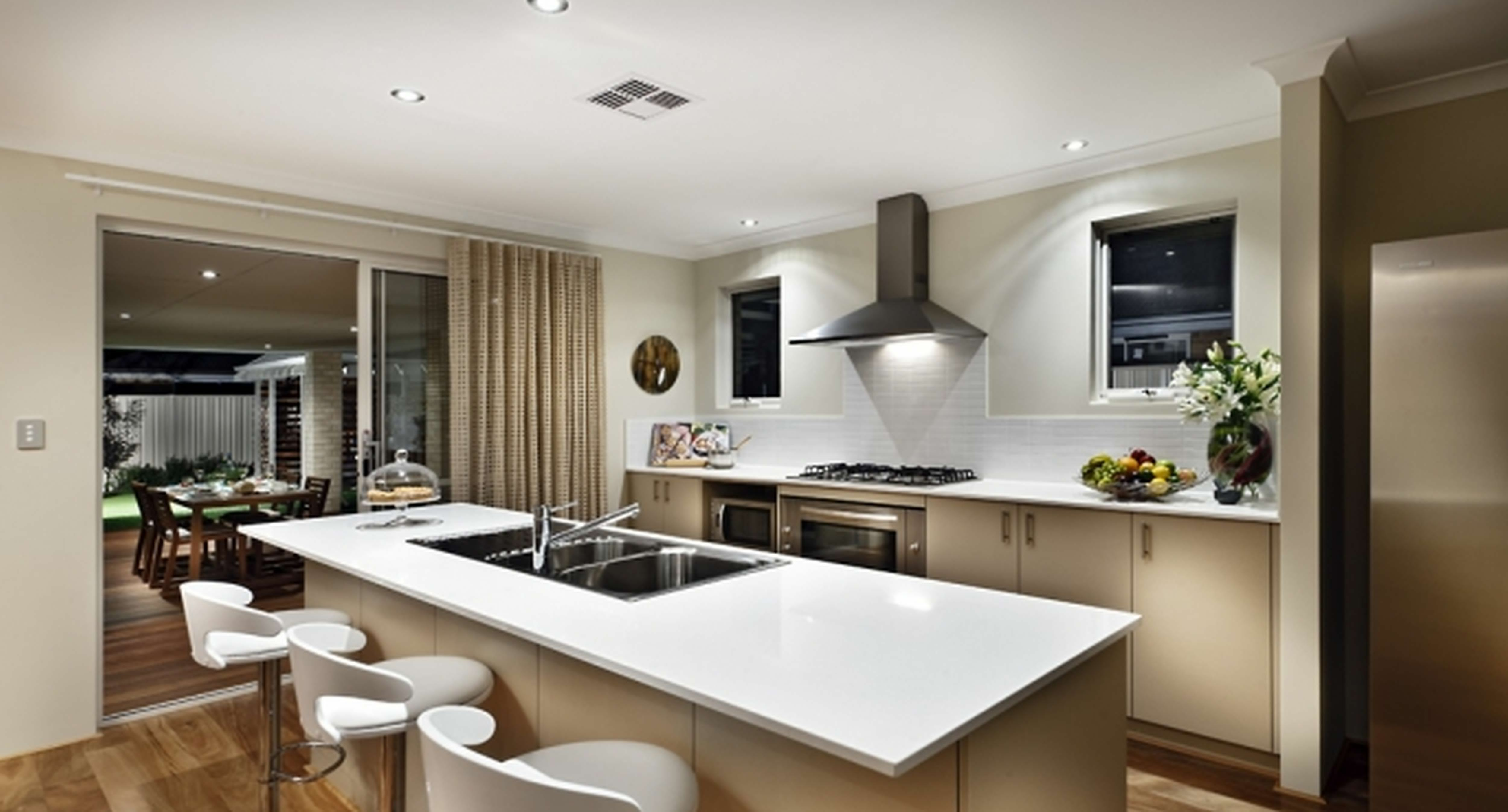 kitchen appealing design app free commercial layout with shaped white wooden open kitchen on kitchen remodel apps id=73881